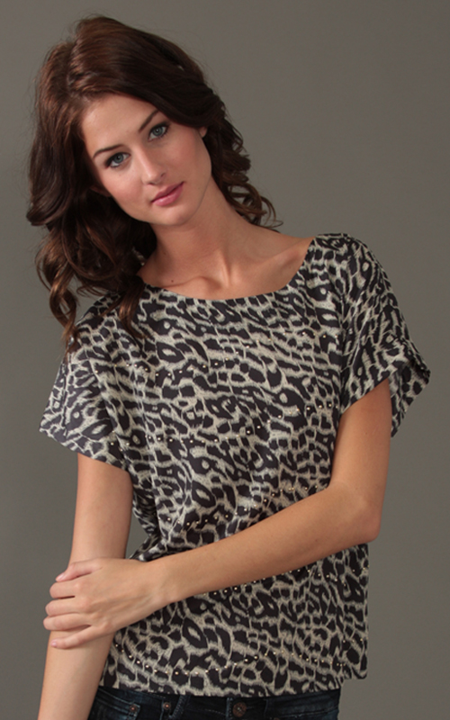 Sugarlips Look of the Day « Sugarlips Blog :  animal print trend fashion womens top sugarlips apparel